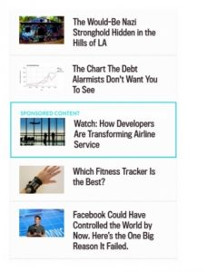 Parse.ly's analytics software API provides recommended articles for Slate.