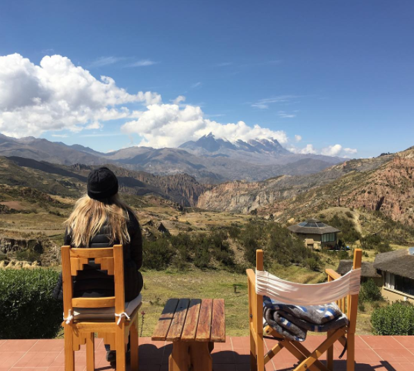 Lindsay on Remote Year in Bolivia