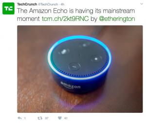 tweet by TechCrunch
