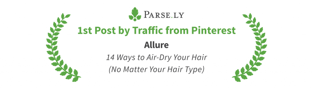 top pinterest post, parse.ly