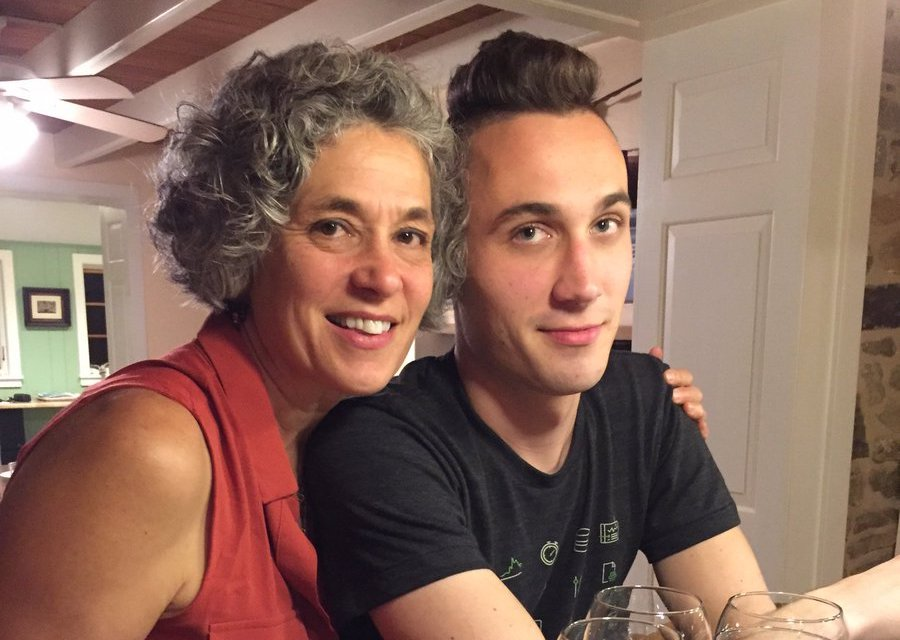 Emmett and his mom