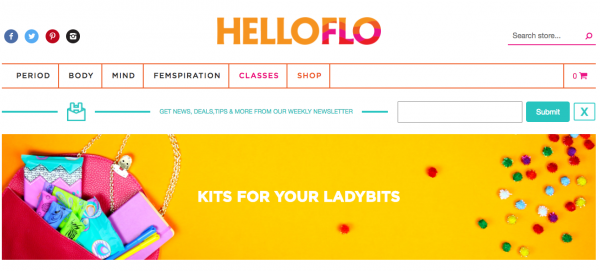 image of HelloFlo kits