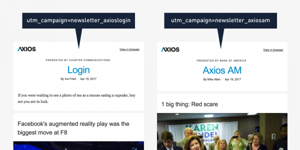 Axios newsletter