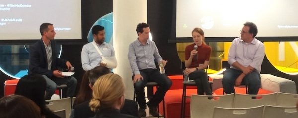 panelists at a Parse.ly Summer Series event