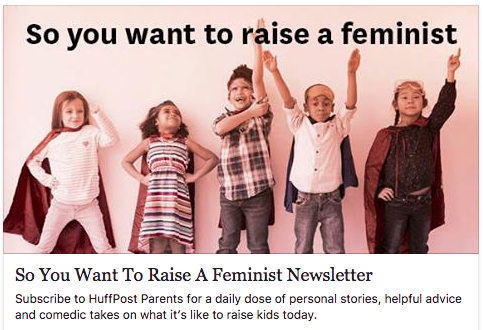 so you want to raise a feminist newsletter
