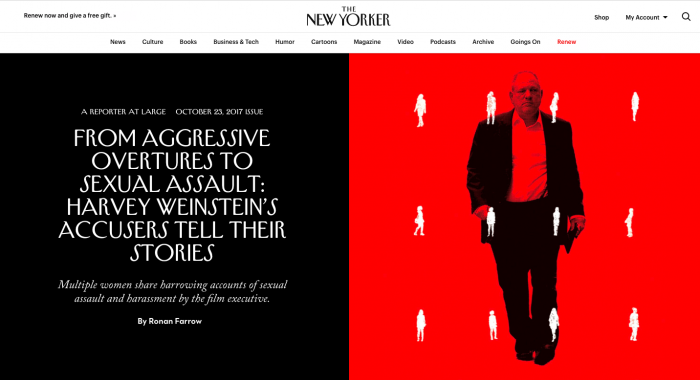 The New Yorker lifestyle category