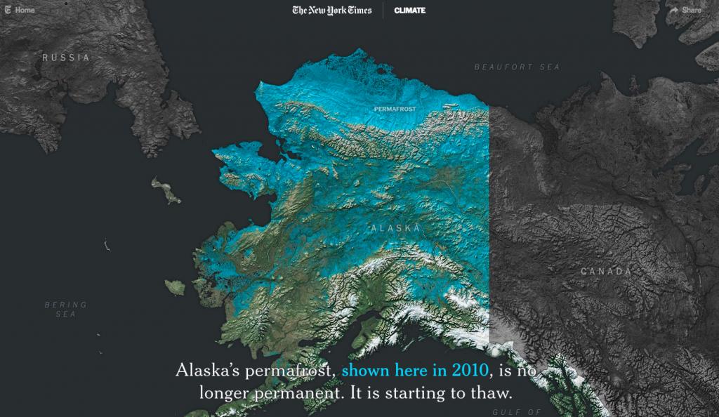 Alaska permafrost