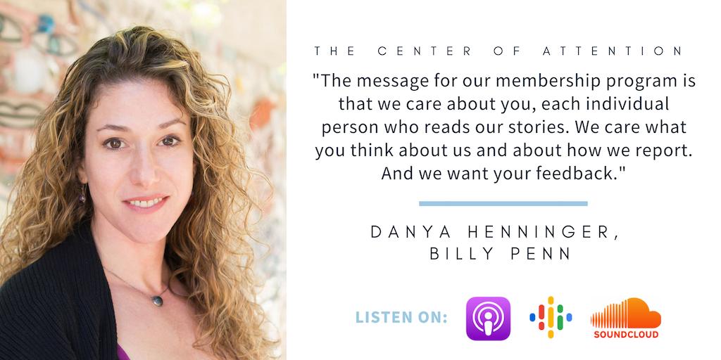 Quote from Danya Henninger, Billy Penn
