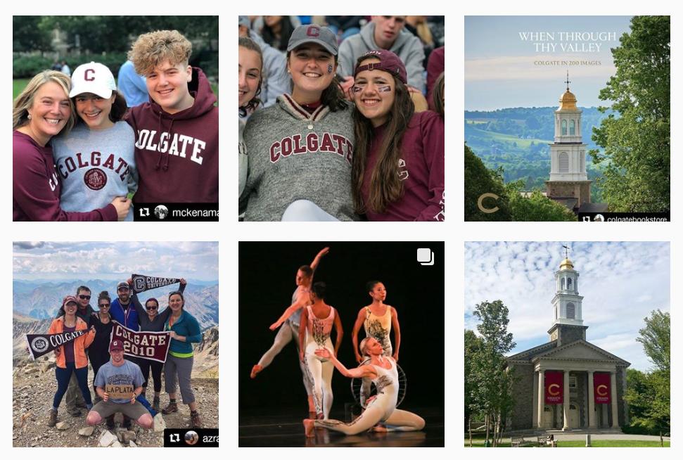 Colgate University Instagram